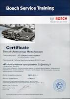 использование программы esi tronic сертификат 04